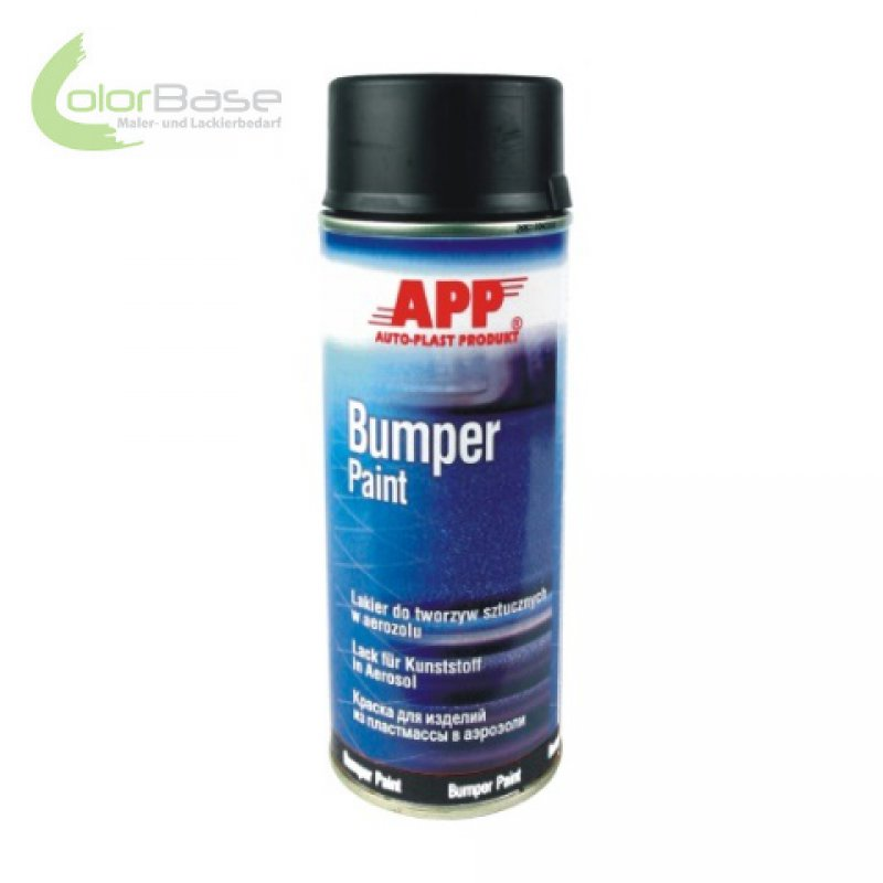 app bumper paint spray schwarz new line 400ml. Black Bedroom Furniture Sets. Home Design Ideas