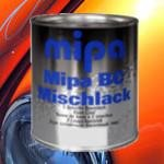 one components solvent-based carpaints
