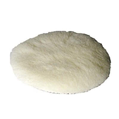 MP polishing sheepskin, wool bonnet, Ø150mm, Velcro