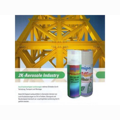 MIPA 2K PU-HS Chassis Lackspray m. act. Anticorrosion...