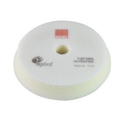 Rupes Bigfoot polishing sponge white ULTRAFINE, Ø100 /...