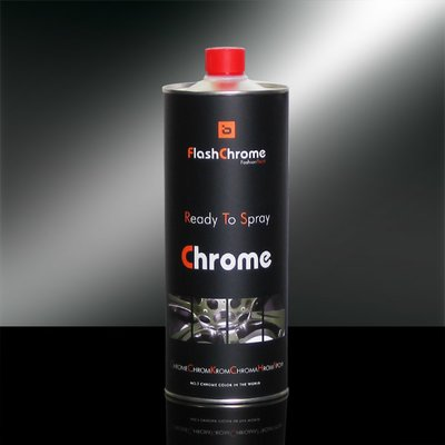 FlashChrome - Chromlösung Chromlack, 0,5 Ltr.