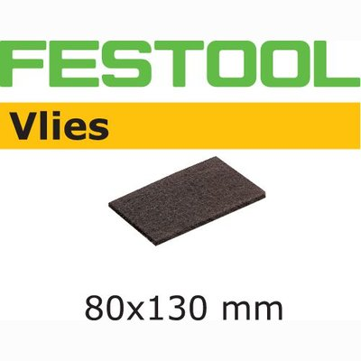 5x FESTOOL Schleifvlies 80 x130mm S800 VL * 483582