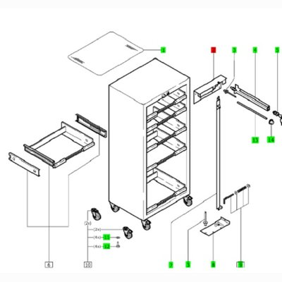 Festool Verriegelung SYS PORT 1000/2