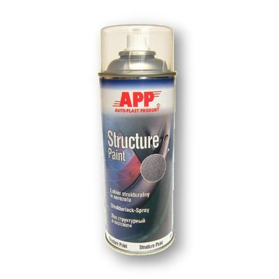 APP Structure Paint Strukturspray transparent, grob 400ml