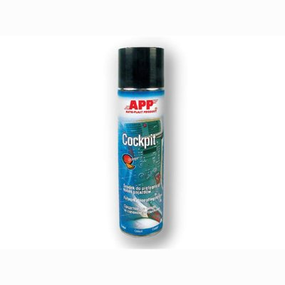 APP Cockpitspray Orange, silikonfrei, 400ml