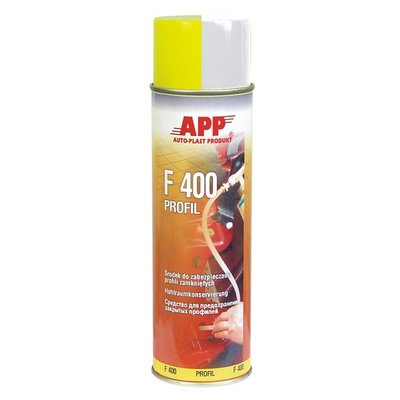 APP F400 Profi Hohlraumversiegelungs-Spray transparent,...