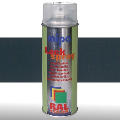 MIPA Acryllack RAL Color Farbspray 400ml RAL5008 - graublau