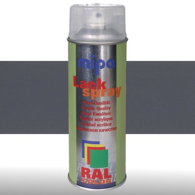 MIPA Acryllack RAL Color Farbspray 400ml RAL7015 - schiefergrau