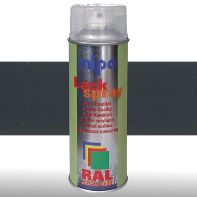 MIPA Acryllack RAL Color Farbspray 400ml RAL7016 -...