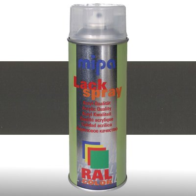 MIPA Acryllack RAL Color Farbspray 400ml RAL7022 - umbragrau