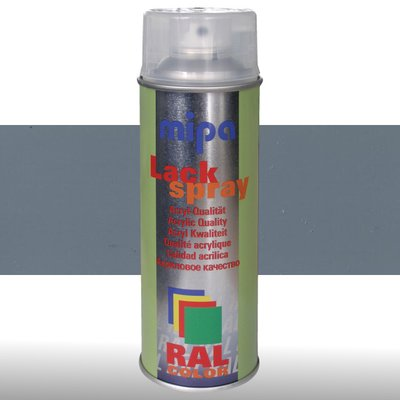MIPA Acryllack RAL Color Farbspray 400ml RAL7000 - fehgrau