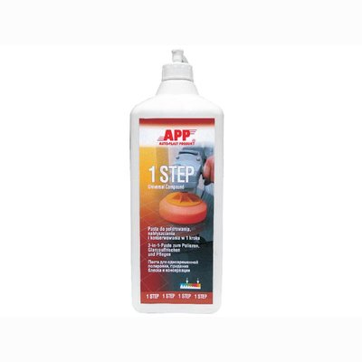 APP 1-Step 3 in 1 polishing paste Hochglanzpolitur 0.5 Ltr.