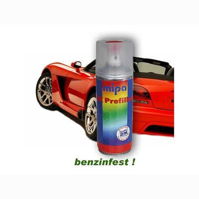 MIPA 2K HS-car paint spray in UNI-desired color glossy. 400ml incl. Hardener