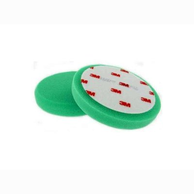 2x 3M 50487 Perfect-it III Polishing sponges green, Ø150mm