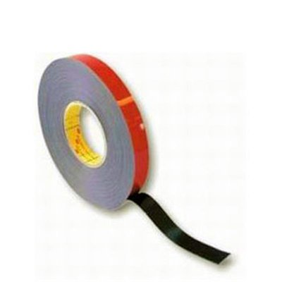 3M Acrylic Plus Tape PT1100 black E 80318, 19mm x 20m