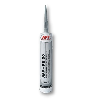 APP PU 50 polyurethane seam sealant gray, 310 ml