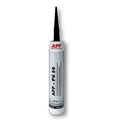 APP PU 50 polyurethane seam sealant black, 310ml