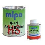 MIPA 4 + 1 Acrylfiller HS filler incl. Hardener light...