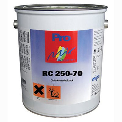 MIPA RC 250-70 chlorinated rubber paint pool paint PG1-3 5 kg
