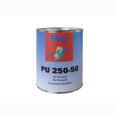 MIPA 2K PU String and. Spritzlack PU 250-50 semi-gloss. RAL 9010, 1kg