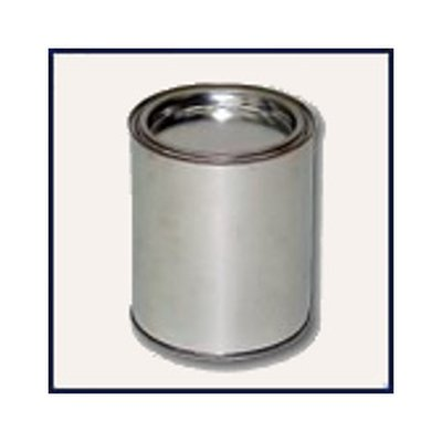 100ml empty tin tinplate blank incl. Cover