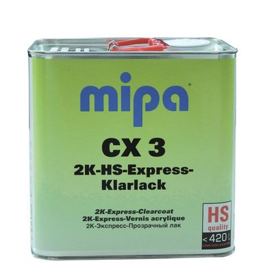 MIPA CX3 2K HS Express Clearcoat 1 & 1 VOC Speed...