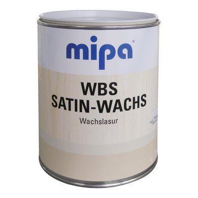MIPA WBS Satin-Wachslasur matt transparent/weiss 680ml