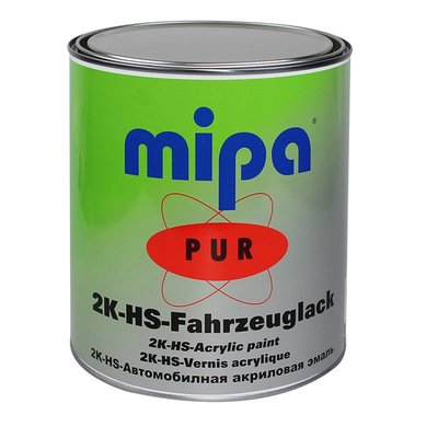 MIPA 2K PUR-HS Fahrzeuglack Ready-Mix in RAL/NCS/LKW/LM,...